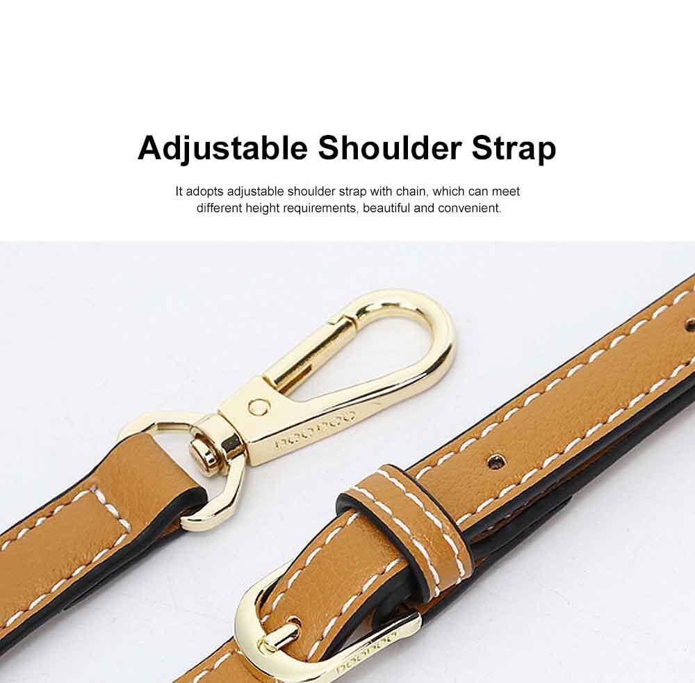 Contrast Color Small Square Bag, Fashion Handbag Shoulder Slung Bag for Female, Summer 2019 4