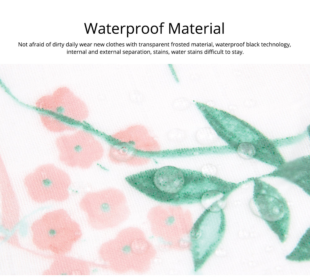 Waterproof & Anti-fouling Baby Bib with Large Capacity Rice Pocket & Velcro Design Baby Bib 6