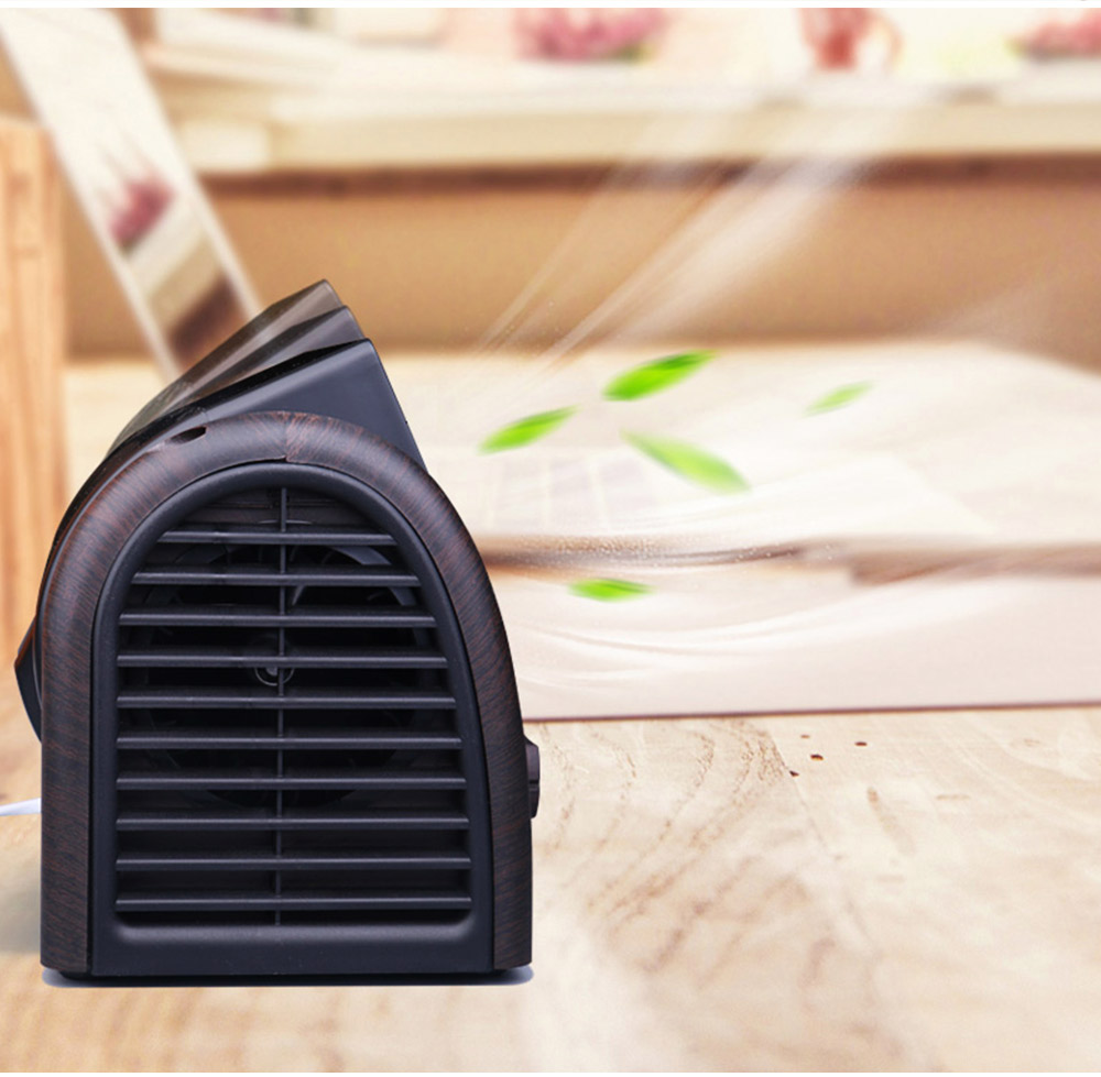 Non-USB Mini Desktop Fan with Three Adjustable Wind Speed, Desktop Student Dormitory Bed Quiet Office 6