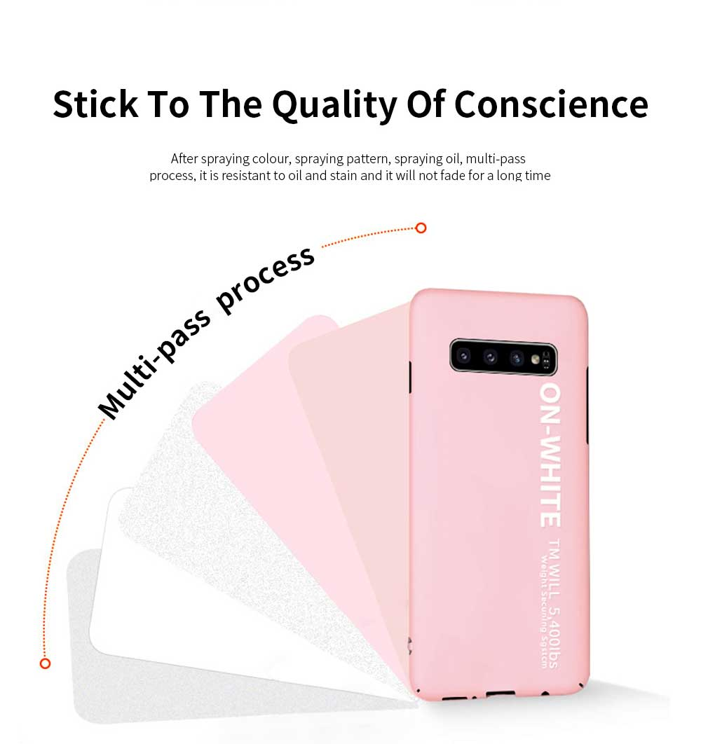 Mobile Phone Shell, Cover Case For Samsung S10, S10 plus Phone Case For Samsung Galaxy S10 Lite, Galaxy S10 + Hard Shell Protective Back Cover 3