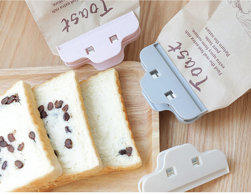 Multi-purpose Strong Plain Plastic Clip with Large Opening Design & Strong Spring for Snack Bags 3