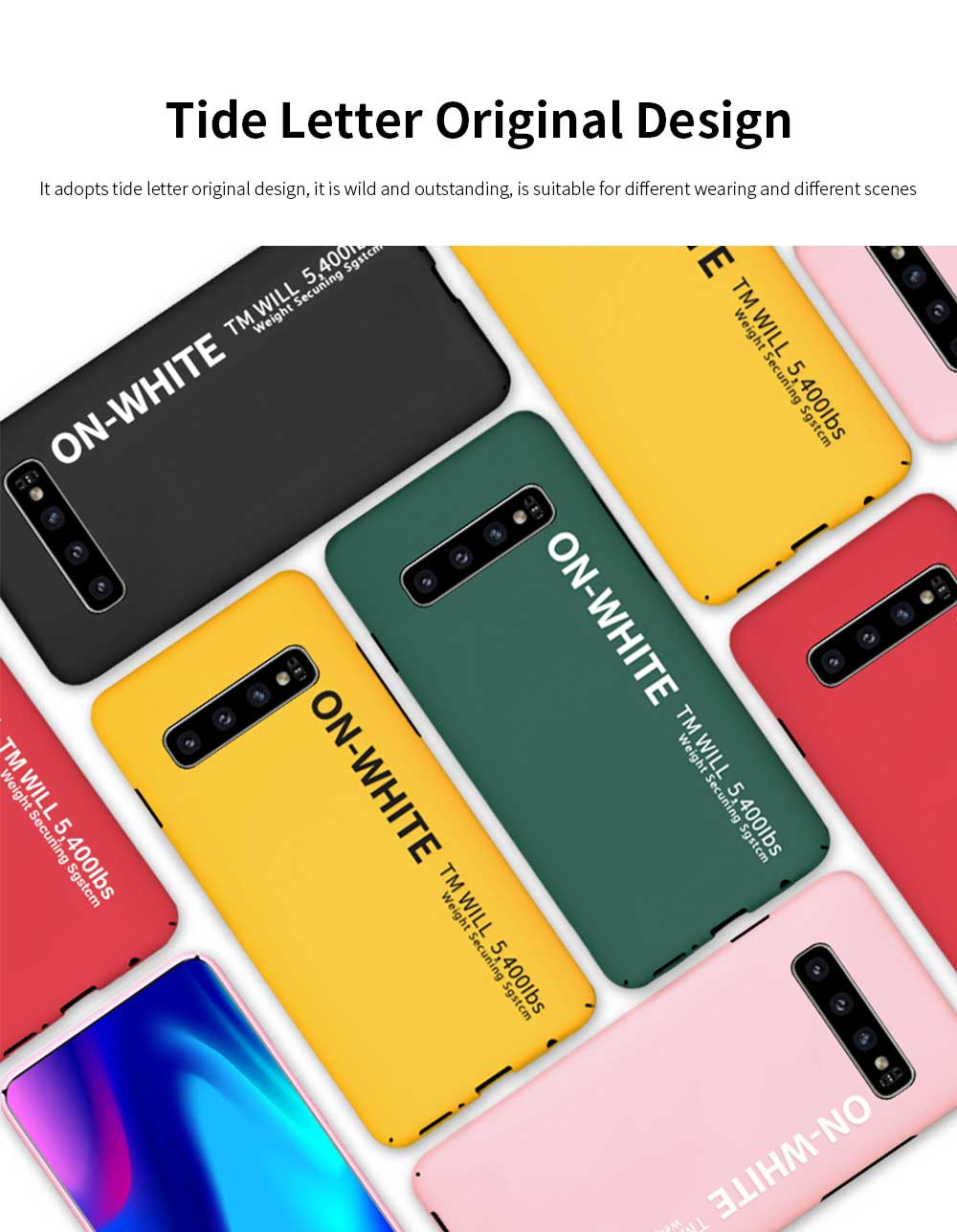 Mobile Phone Shell, Cover Case For Samsung S10, S10 plus Phone Case For Samsung Galaxy S10 Lite, Galaxy S10 + Hard Shell Protective Back Cover 1