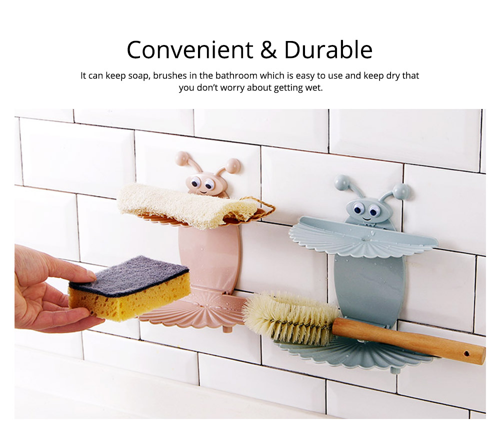 Double Layer Soapy Soap Box with Asphalt Hole, Convenient Storage Soap Container 5