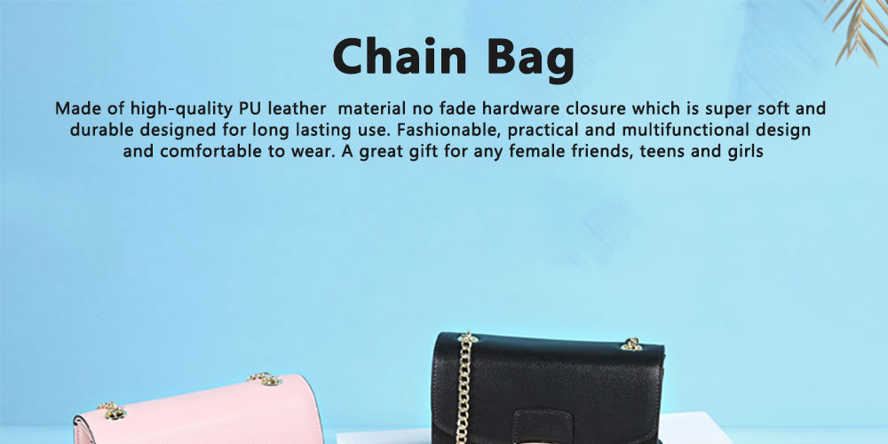 Small Fragrance Rhombic Chain Bag Single Shoulder Bag, New Fashion Women Handbag Messenger Bag 0