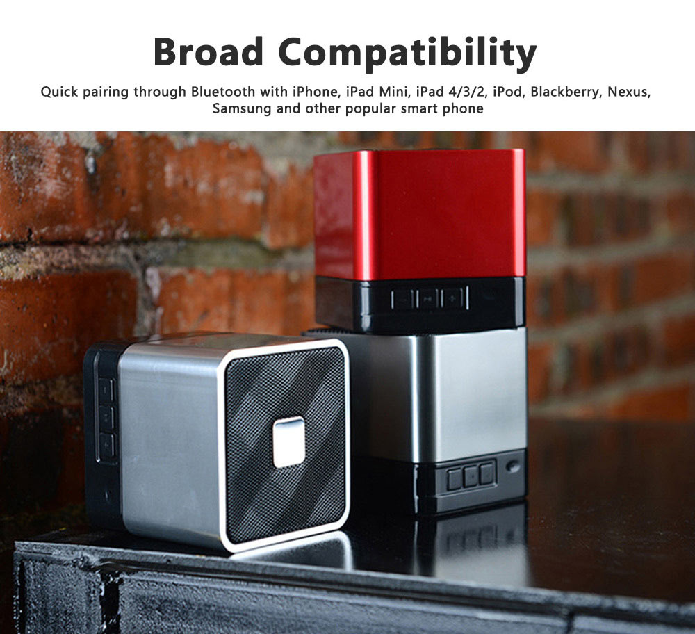 Mini Bluetooth Speaker Powerful Sound with Enhanced Bass, Built-in Mic, Support TF Card Playing, Portable for Travel, Outdoor, Hiking 6