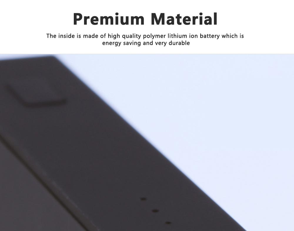 Portable Power Bank Ultra-thin Polymer 20000mah Fast Mobile Charger Cell Phone Battery for iPhone, iPad Samsung Galaxy Huawei LG Xiaomi 6