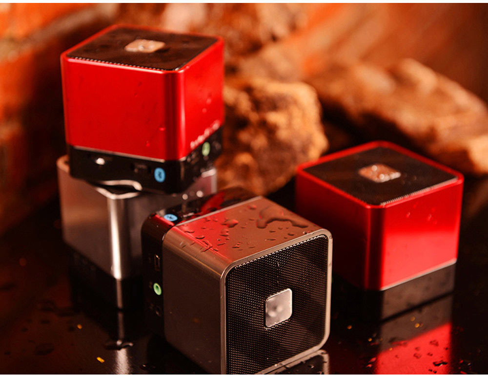 Mini Bluetooth Speaker Powerful Sound with Enhanced Bass, Built-in Mic, Support TF Card Playing, Portable for Travel, Outdoor, Hiking 7