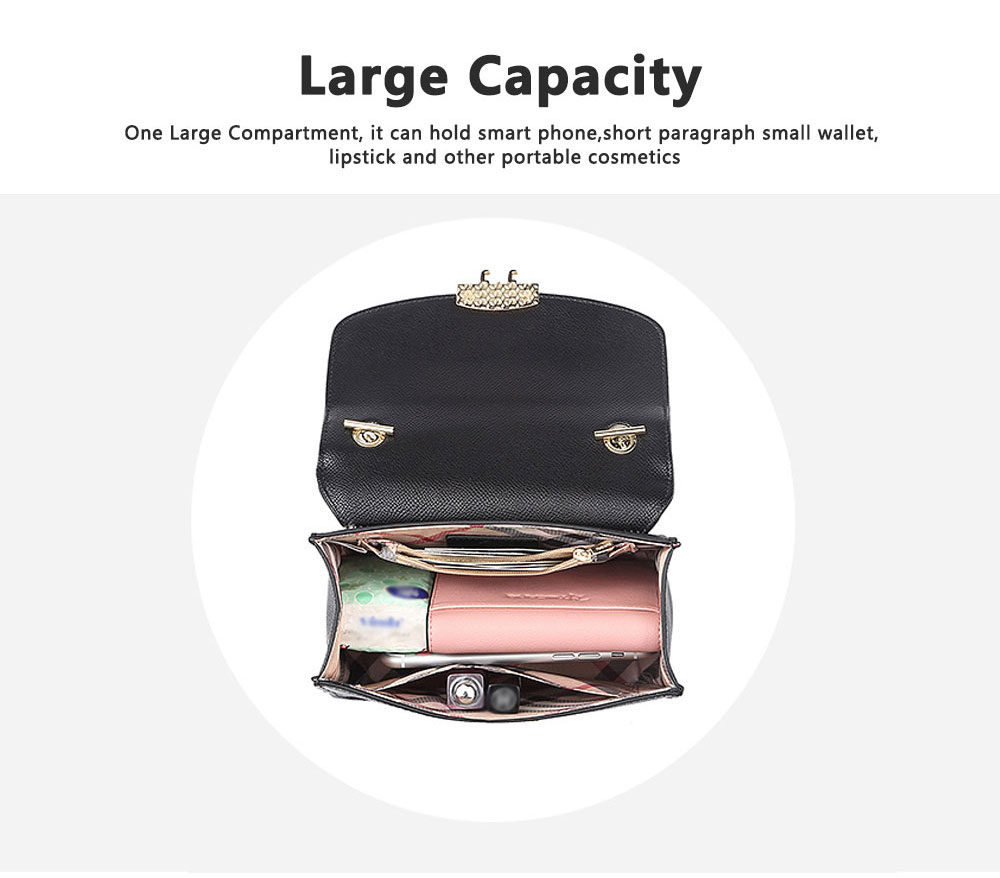 Small Fragrance Rhombic Chain Bag Single Shoulder Bag, New Fashion Women Handbag Messenger Bag 8