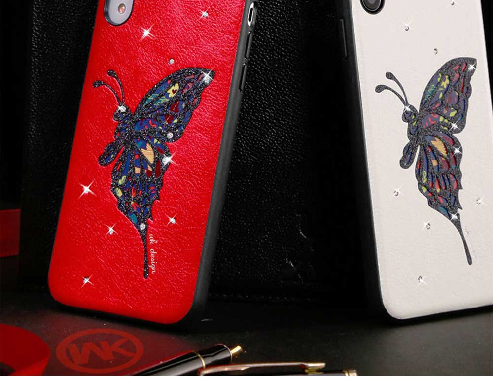 Luxury iPhone Protective Case 3D Handmade Bling Colorful Diamonds Soft TPU Back Case Cover for Apple iPhone XS XR XS Max 1