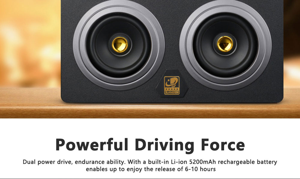 Portable Wireless Bluetooth Speaker High Power Car Outdoor Radio Dual Speakers System Subwoofer 4