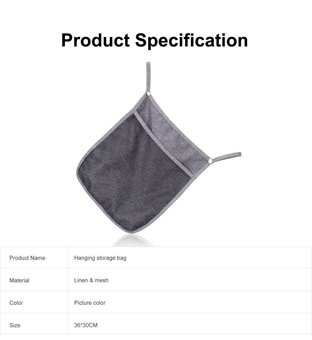 Baby Stroller Hanging Bag for Shopping, Outdoors, Multifunctional Mesh Bag with Handle Small Portable Storage Holder 6