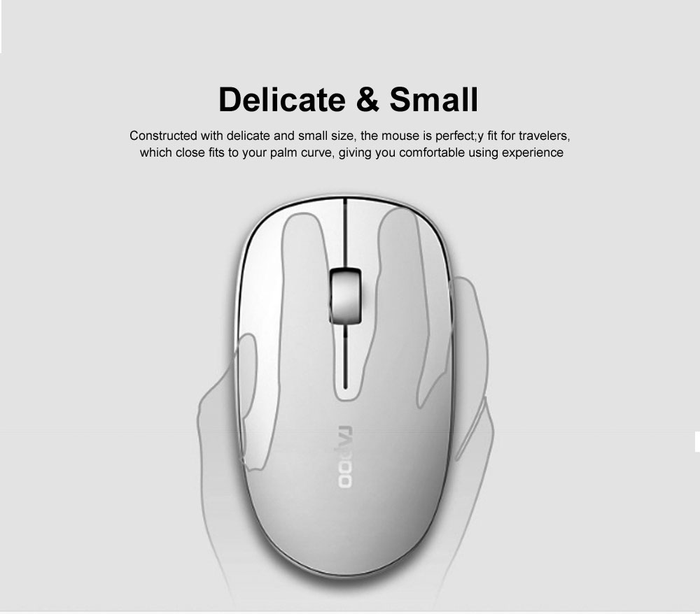 2.4G Wireless Bluetooth Keyboard and Mouse Combination Free Stable Connection with Long Battery Life 7