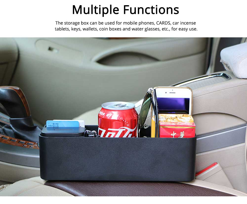 Storage Box ABS PU Material Large Capacity Pack Box for Keys Glass Phone High Bearing Practical Container for Car 6