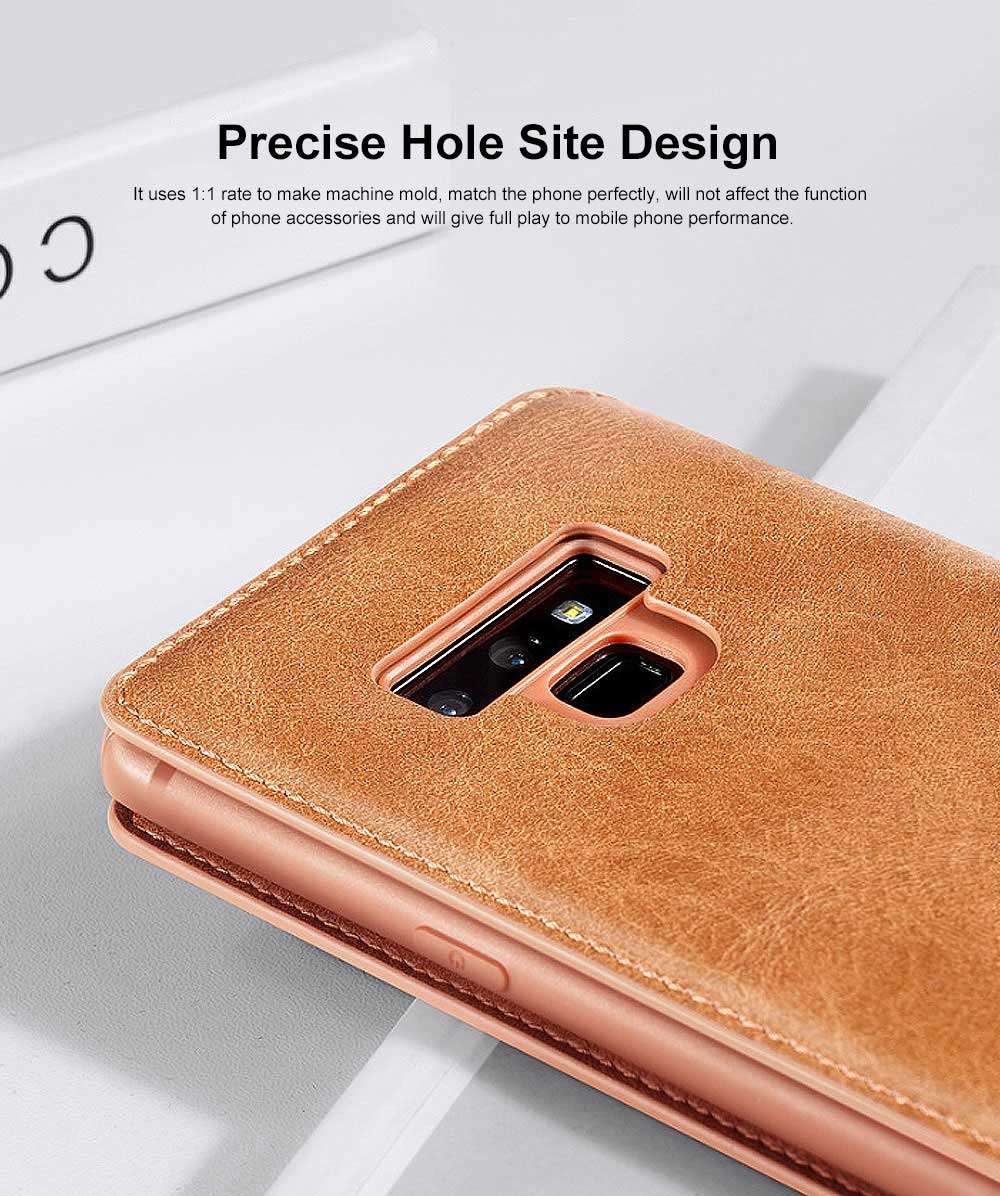 Soft TPU PU Leather Shockproof Protective Samsung Phone Case, Flip Case with Card Slot Samsung Soft Phone Cover for Samsung Galaxy Note 9, S9 plus, S9, S10, S10 plus, S10E, S10 Lite 3