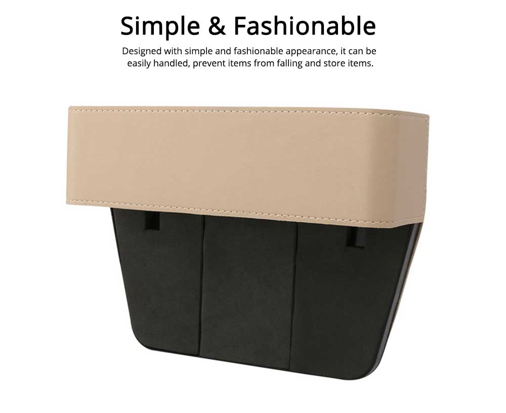 Storage Box ABS PU Material Large Capacity Pack Box for Keys Glass Phone High Bearing Practical Container for Car 3