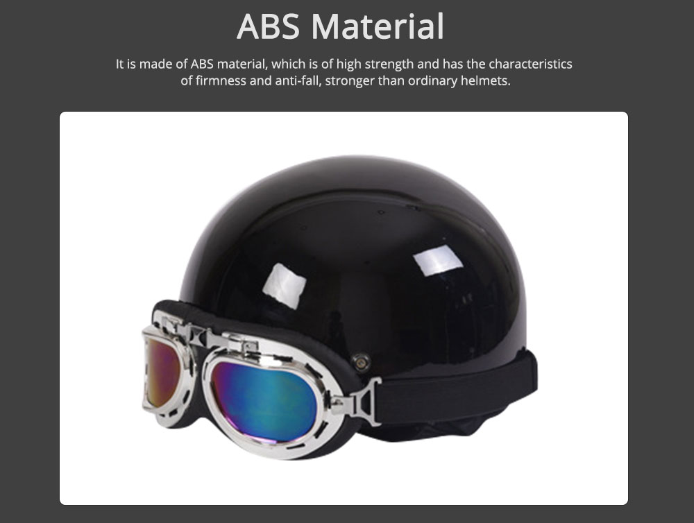 High-strength ABS Motor Helmet Strong Headgear Safe for Riding for Men Women Anti-ultraviolet Anti-glare with Cap-brim Neck Headpiece Safe Cap 1
