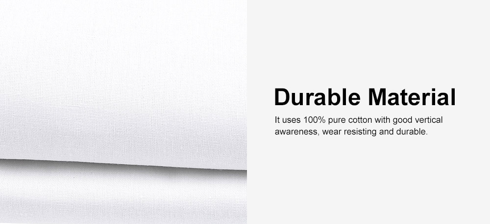 White Photography Background Cloth 100% Cotton for Studio or Outdoors 3*3.6m 2