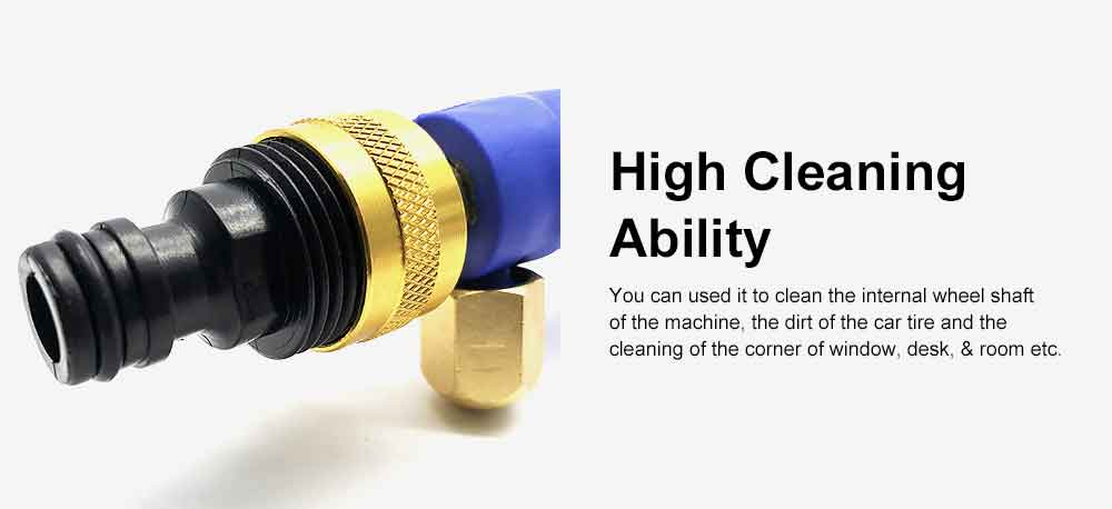High Pressure Water Jet for Car Washing, Home Washing Garden Watering Window Cleaning, Durable Car Water Gun Pneumatic Tool Essential Tools 5
