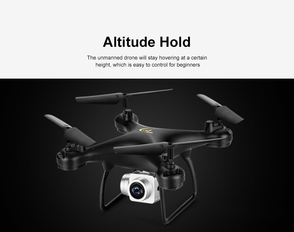 FPV Unmanned Drone with Camera 1080p HD Live Video RC Quadcotper Helicopter for Kids Beginners 1