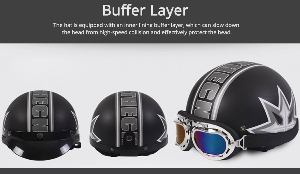 High-strength ABS Motor Helmet Strong Headgear Safe for Riding for Men Women Anti-ultraviolet Anti-glare with Cap-brim Neck Headpiece Safe Cap 3