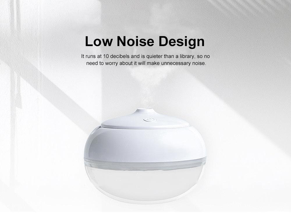 USB Mini Desktop Air Atomizer, Incense Humidifier, Night Light 7 Colors 258ml Mini Humidifiers Desktop 4