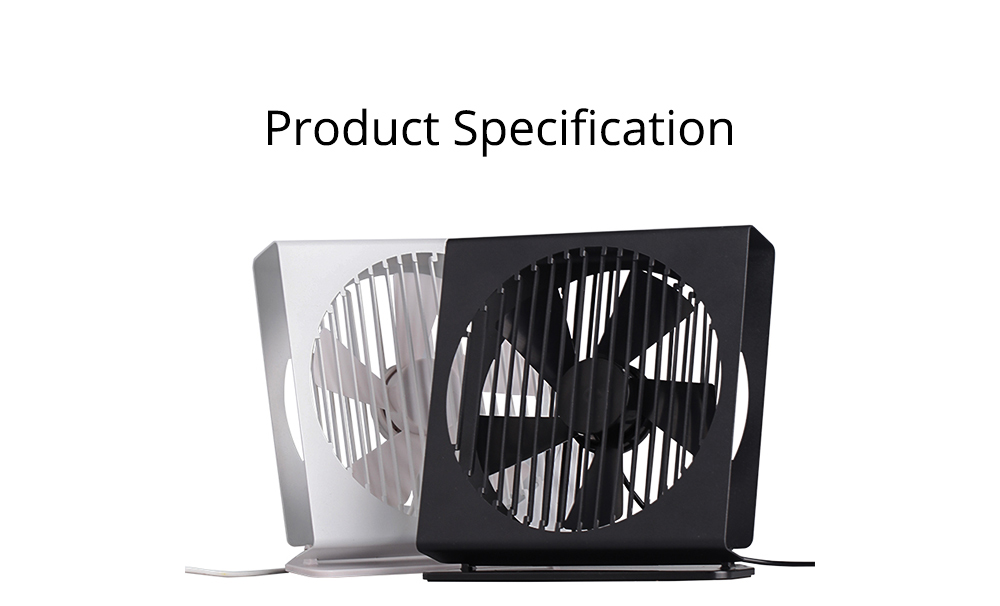 USB Rechargeable Desk Mini Fan with 90 Degrees Rotation, Strong Motion Compact Fan for Dorm Office Home 7 inches  9