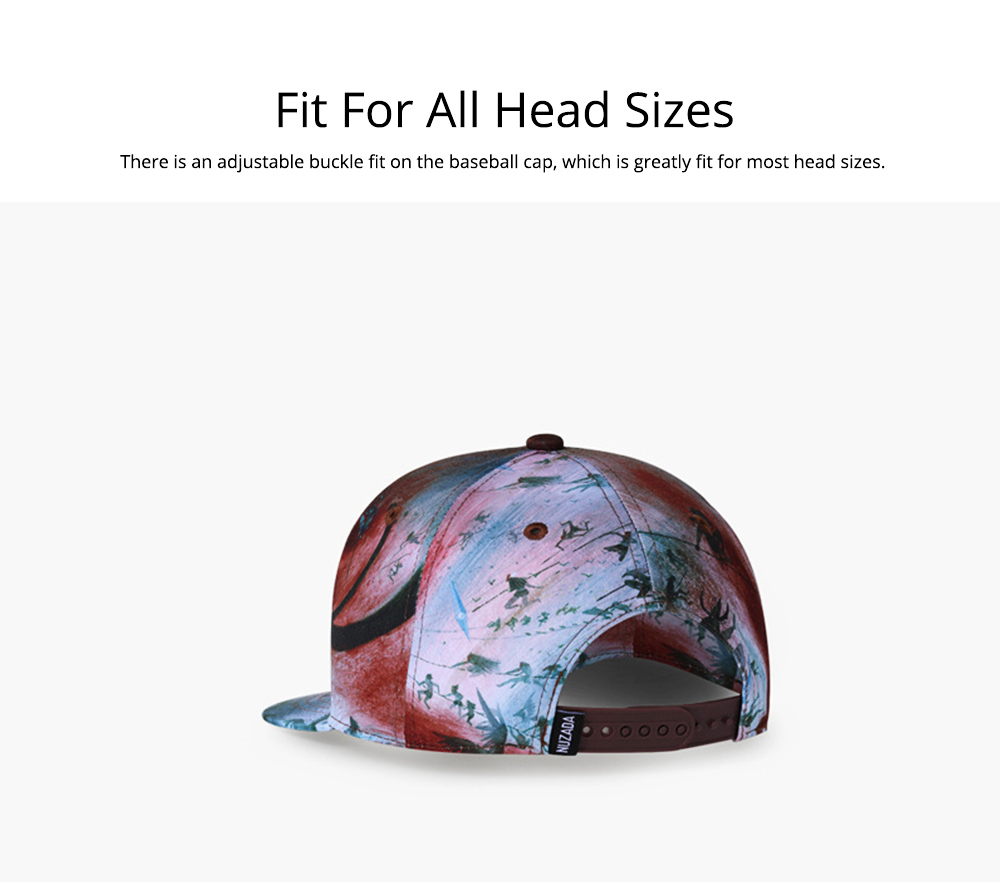 Baseball Cap for Men Women Youth, Stylish Hat Hip Pop Cap with Street Fashion Style Cap 4