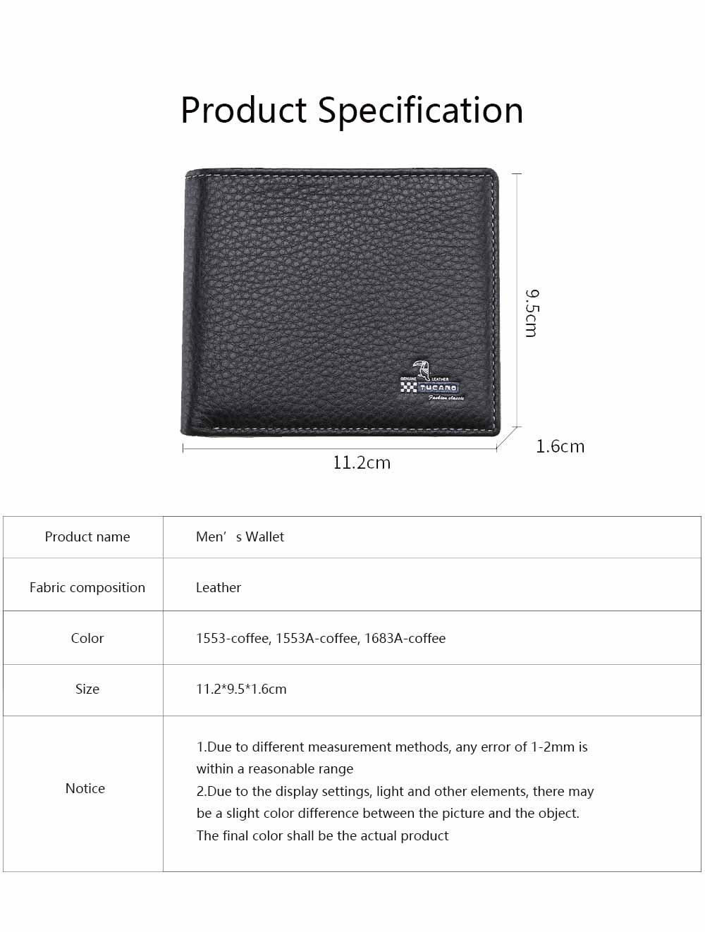Bifold Side Flip Wallet, High-End Business Men Wallet, Men's Multifunctional Handbag, Extra Capacity Travel Wallet 5