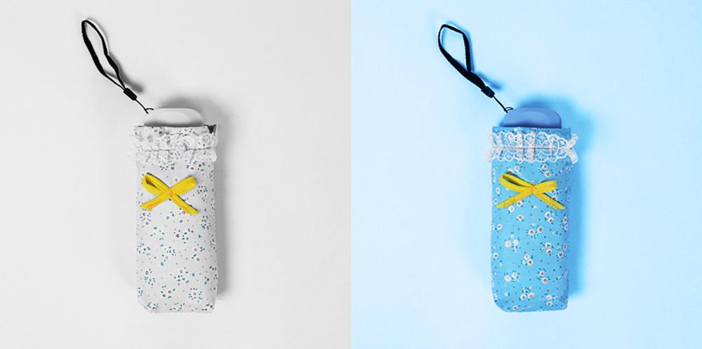 Mini Umbrella with Waterproof Case, Compact Umbrella Folding Pocket Umbrella Perfect for Outdoors 5