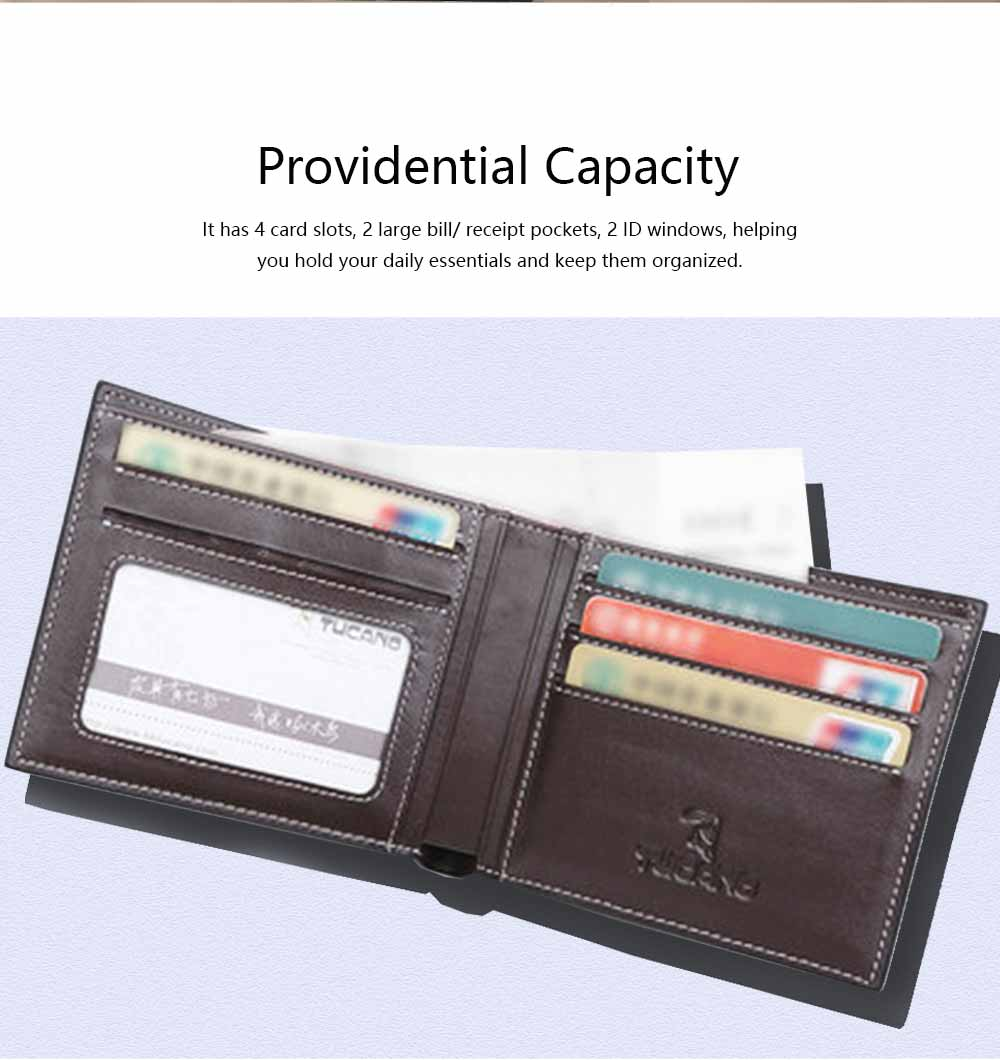 High-End Business Men Wallet, Men's Leather Business Clutch Wrist Bags, Handbag Organizer Card Cash Holder 2