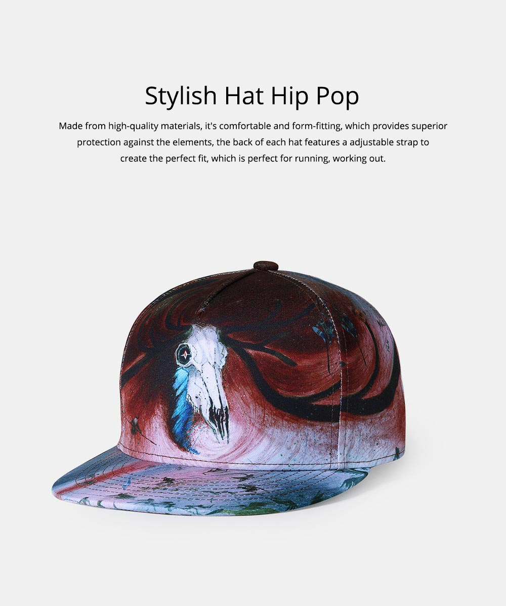 Baseball Cap for Men Women Youth, Stylish Hat Hip Pop Cap with Street Fashion Style Cap 0