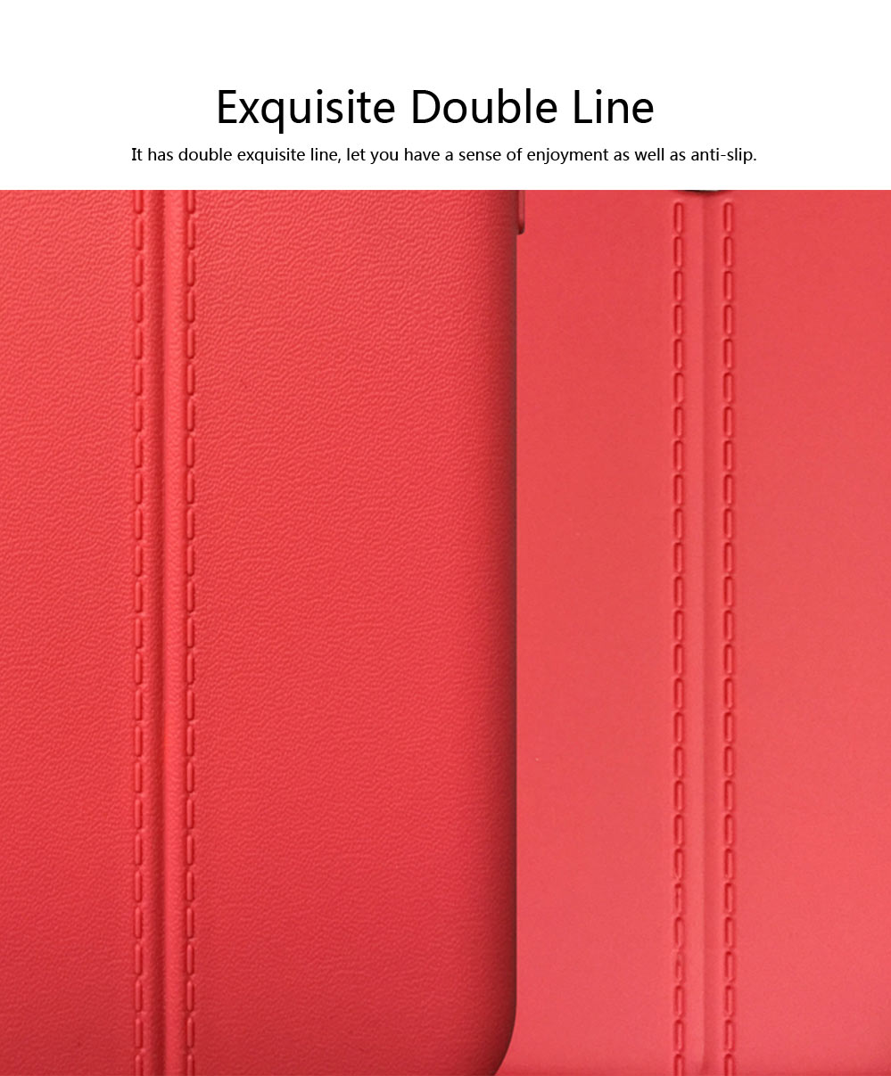 Double Line Phone Protector Case for LG G4 G6, Solid Color Anti-Fall Phone Cover, Minimalist TPU Back Cover 1