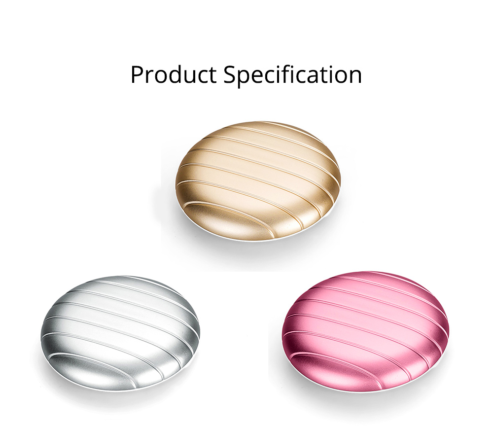 Round Pill Case Holder Easily Fit Portable Cases Daily Use Medicine Organizer for Vitamin Supplements 9