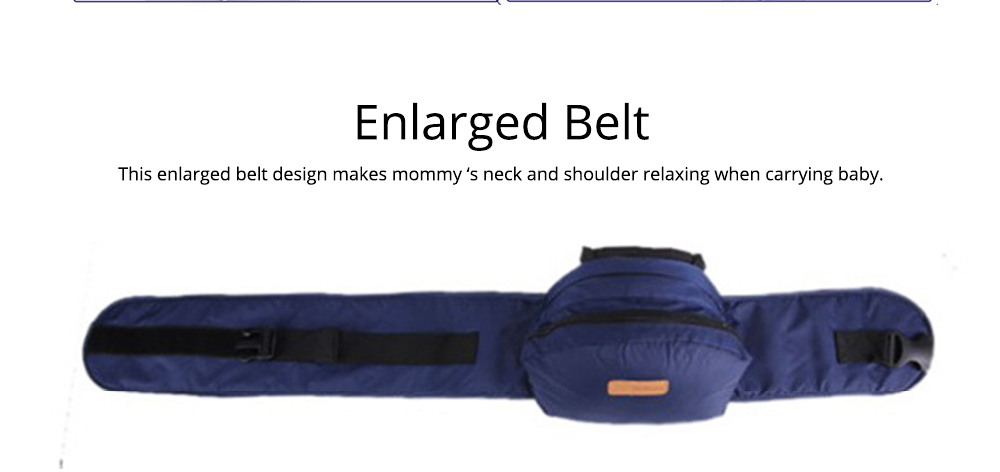 Ergonomic Baby Carrier for Newborn Baby, Front and Back Breathable Adjustable Baby Backpack Carrier with Removable Shoulder Pad Baby Carrier 4