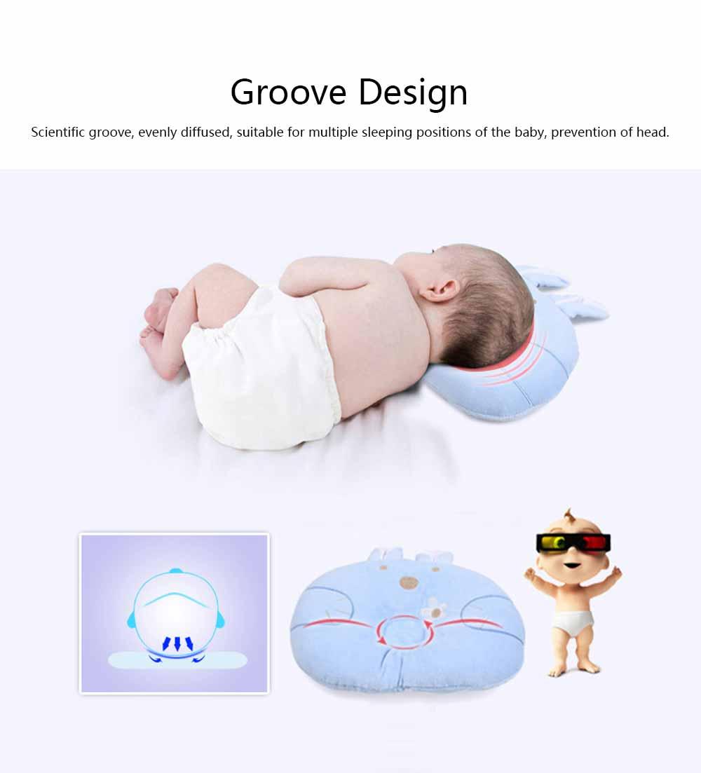 Soft Baby Pillow Anti-headrest, Comfortable Pillow for 0-12 Months Baby, Breathable Baby Pillow, Baby Cotton Pillow, Candy Rabbit Pillow 3