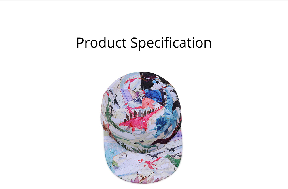 Baseball Cap with Adjustable Closure, Colorful Pattern Cotton Cap for Men Women Unisex Cap 7