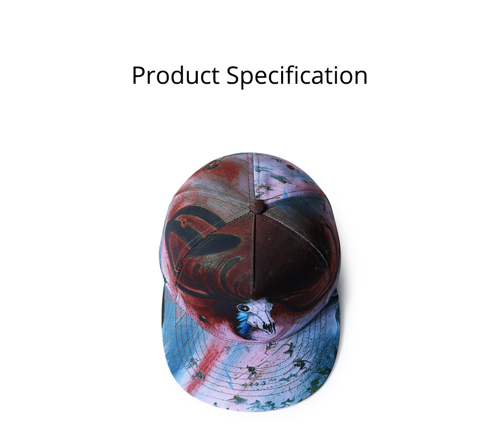 Baseball Cap for Men Women Youth, Stylish Hat Hip Pop Cap with Street Fashion Style Cap 7