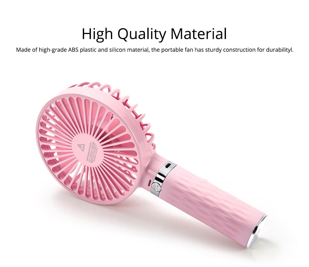 Rechargeable Portable Fan, Personal Handheld Fan for Office, Home, Travel, Small USB Desk Fan  1