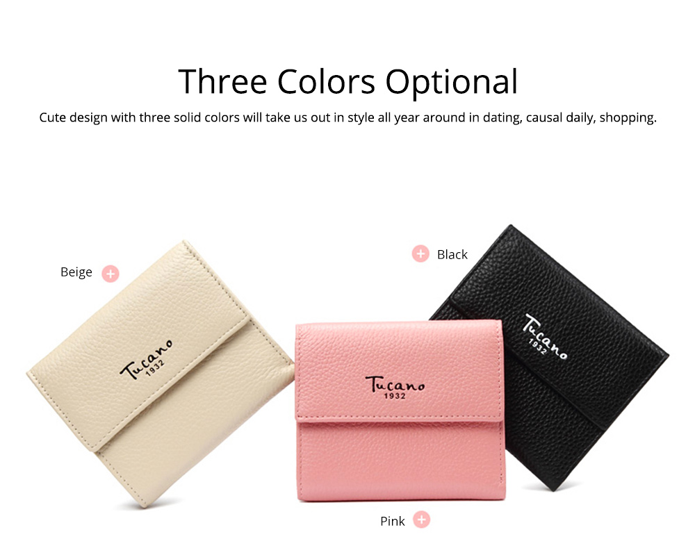 Cute Purse for Women with RFID Blocking, Small Simple Short Bifold Mini Coin Pocket for Cash Coin 3 Colors Optional Purse 7
