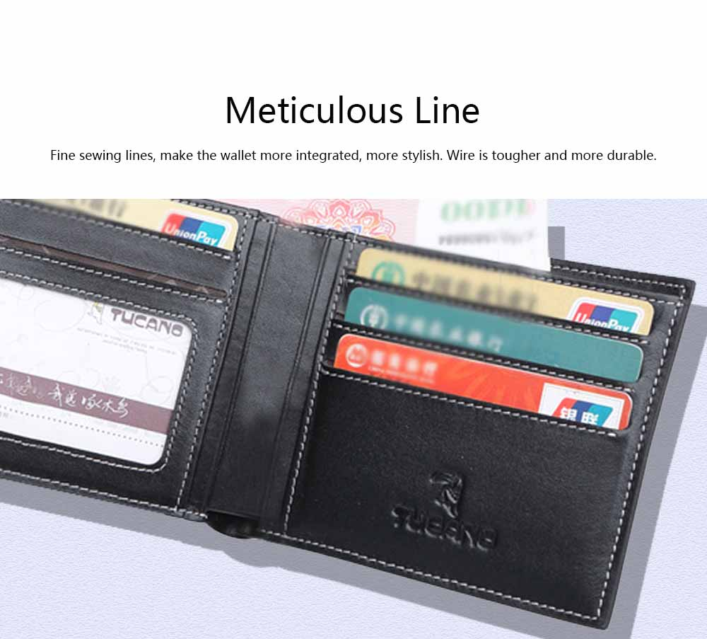 High-End Business Men Wallet, Men's Leather Business Clutch Wrist Bags, Handbag Organizer Card Cash Holder 4