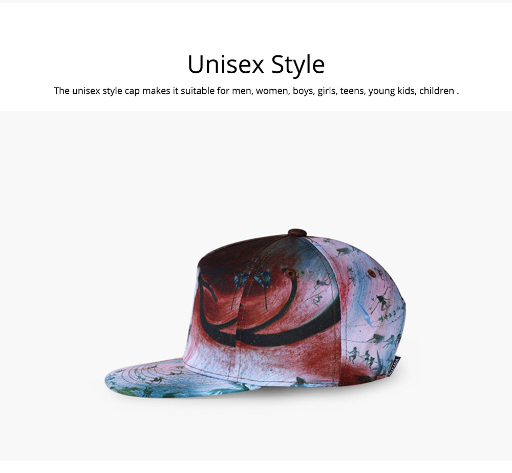 Baseball Cap for Men Women Youth, Stylish Hat Hip Pop Cap with Street Fashion Style Cap 5