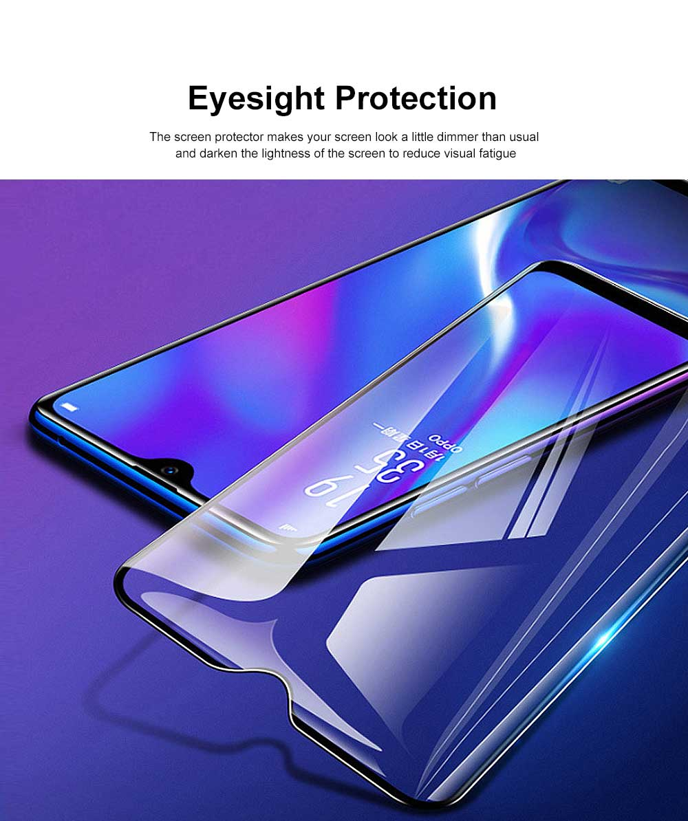 Tempered Glass Screen Protector Full Screen Coverage, Anti-Fingerprint Bubble Free Protector for iPhone X or XS, iPhone XR, iPhone XS Max, iPhone7 or 8, iPhone 7 or 8 plus, iPhone 6 or 6S, iPhone 6S plus 2