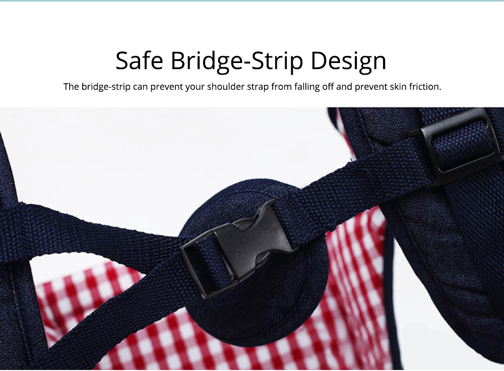 Portable Baby Waist Belt, Multifunctional Baby Carrier with Comfortable Back Pad Baby Carrying Strap 3