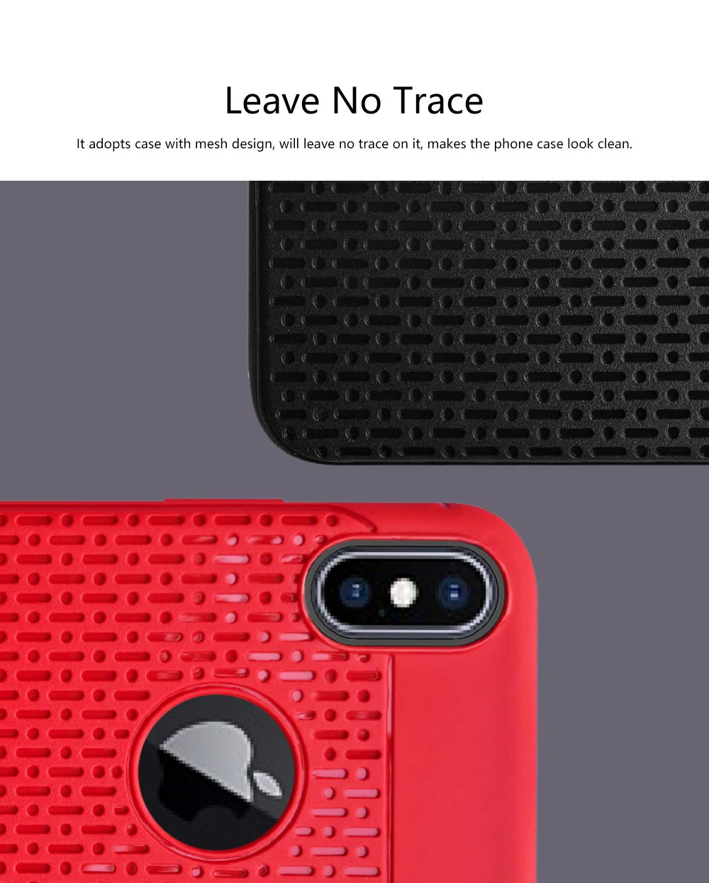 Plaid Solid Color Mobile Phone Case for iPhone, Ultra-Thin Anti-Fingerprint Phone Case for Apple iPhone X, XS, 6, 6S,7,8, 6S Plus, 8 Plus Soft Back Cover 1