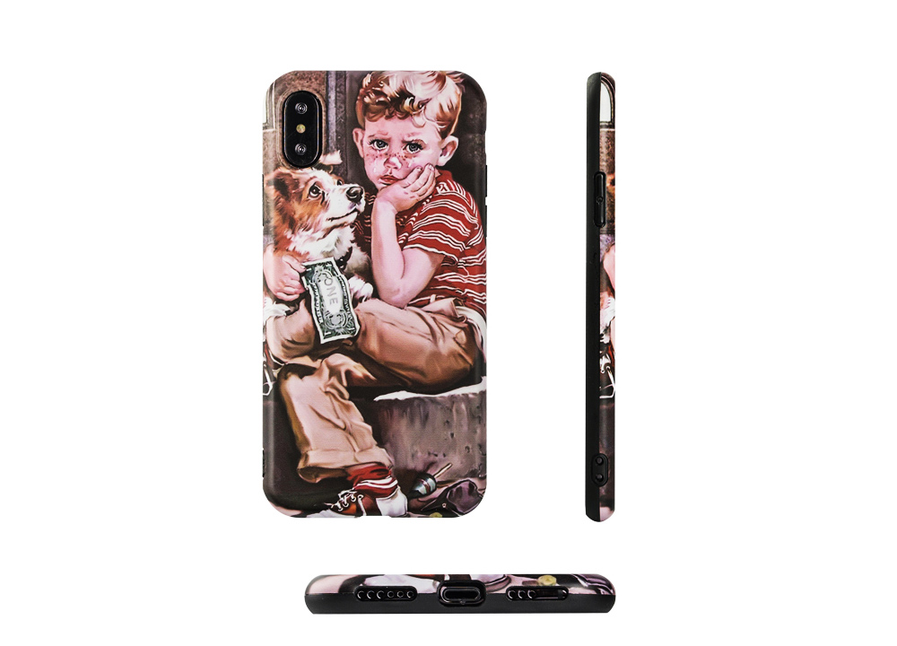 Artwork Phone Case, Soft TPU Phone Back Case, Anti-Scratch Anti-Finger Protective Cover for iPhone 6 6s, iPhone 6plus 6s plus, iPhone 7 8, iPhone X XS, iPhone XS Max, iPhone XR 3