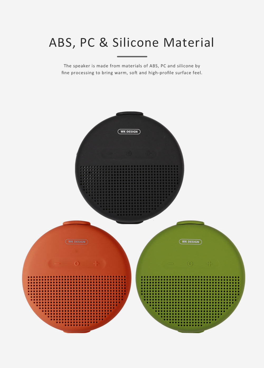 Wireless Portable Speaker SP150 for Outdoor Use, New Style Wireless Silicone Loudspeaker Waterproof Bluetooth Loudspeaker Box Portable Speaker 4