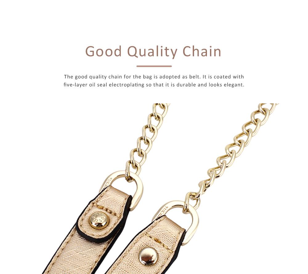 TUCANO Chain Bag for Women, Fashionable Square Messenger Bag for Women Spring Summer, Single-shoulder Bag 7