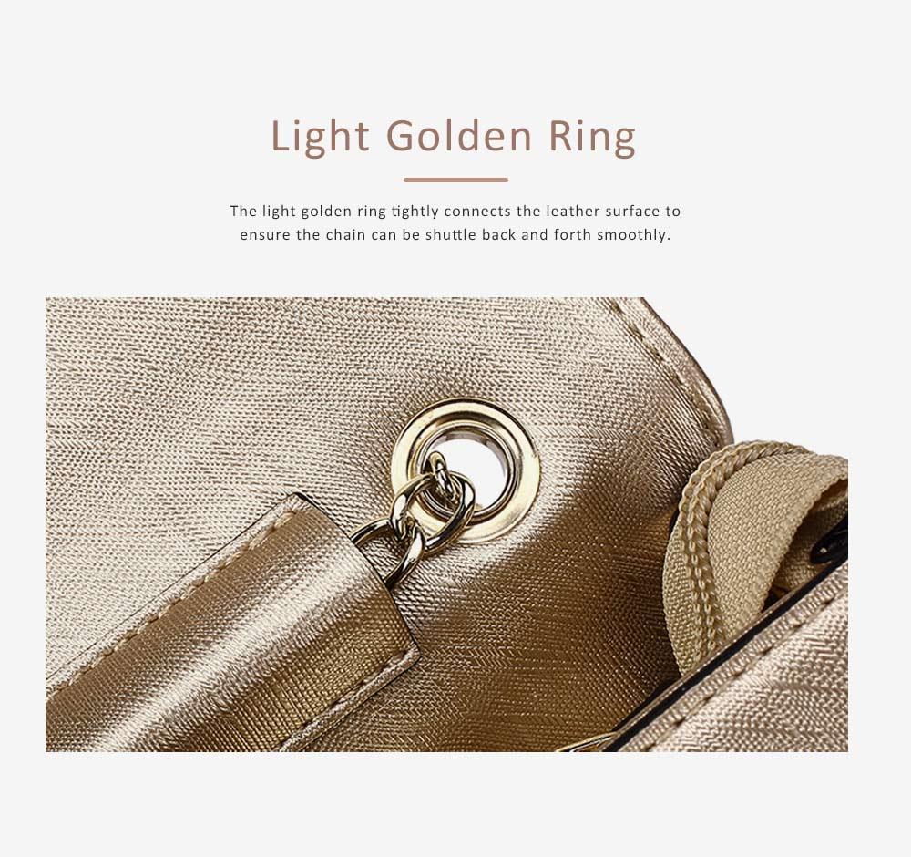 TUCANO Chain Bag for Women, Fashionable Square Messenger Bag for Women Spring Summer, Single-shoulder Bag 4