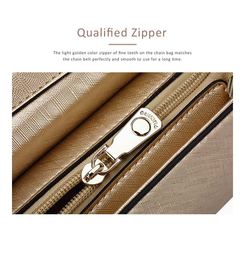 TUCANO Chain Bag for Women, Fashionable Square Messenger Bag for Women Spring Summer, Single-shoulder Bag 5