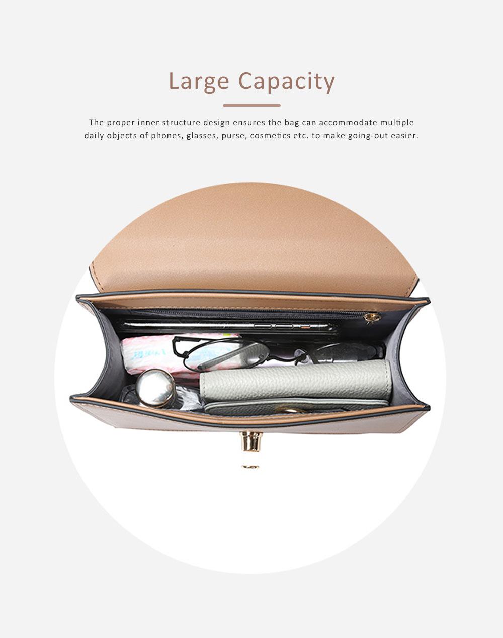 TUCANO New Style Handbag for Women, Fashionable Square Messenger Bag for Women Single-shoulder Bag 3